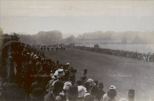 Epsom Derby, 1881. Location: National Archives, London, Great Britain. Phto Credit: HIP / Art Resource, NY.