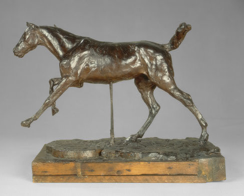 Horse Galloping on Right Foot, 1889/1890. Collection of Mr. and Mrs. Paul Mellon, National Gallery of Art, Washington