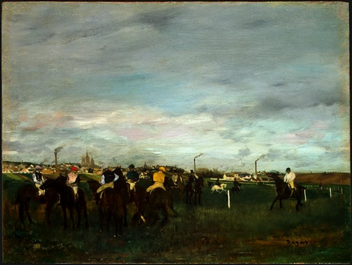 The Races, 1871-1872. Widener Collection, National Gallery of Art, Washington